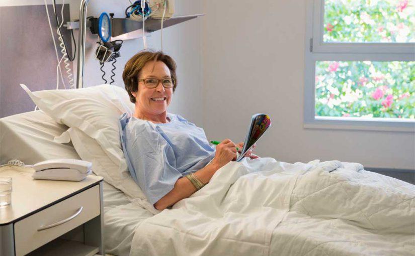 Klinikaufenthalt: So wird man schneller gesund