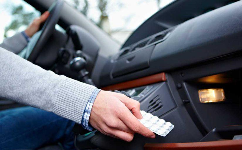Achtung beim Autofahren unter Medikamenteneinfluss