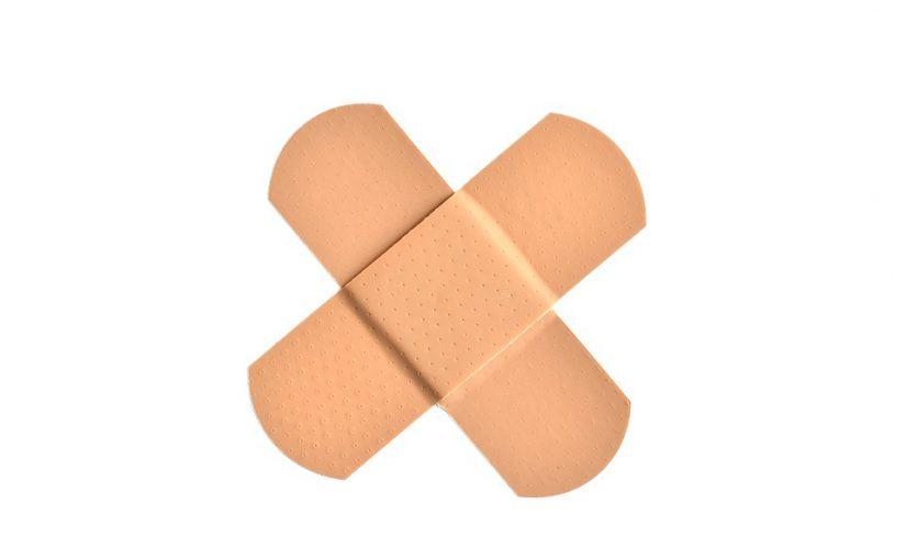 Wirkstoffpflaster: Klebeort muss sauber, fettfrei und trocken sein